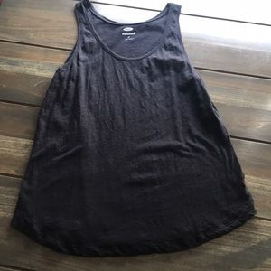 Women's Old Navy Black Tank Size Medium